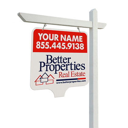 Better Properties 24x24'' Corrugated Plastic Yard Sign