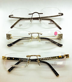 frameless eyeglasses