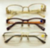 eyeglass rimless frame parts