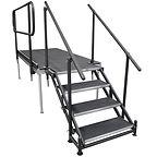 Stage Dimensions- 4 Step Adjustable Stai
