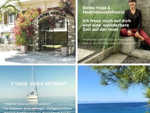 Yoga retreat - September 2021