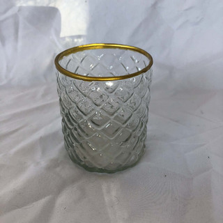 Glass Diamond Votive