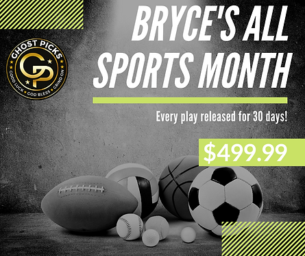 Bryce's ALL SPORTS MONTH