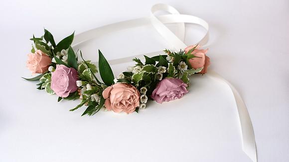 Flower Girl Crown | Rosebud