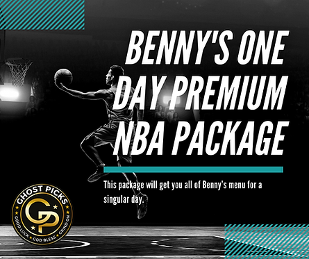Benny's One Day Premium NBA Package