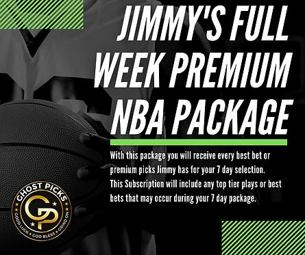 Jimmy's NBA 7 Day Week Package