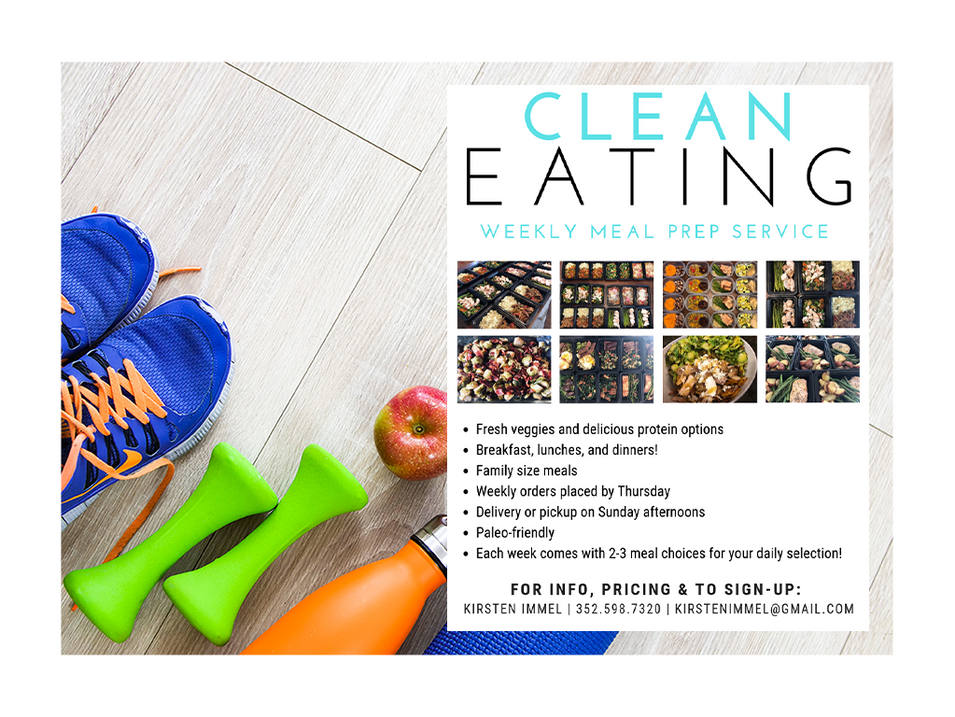 Clean Eating Meal Prep Services
