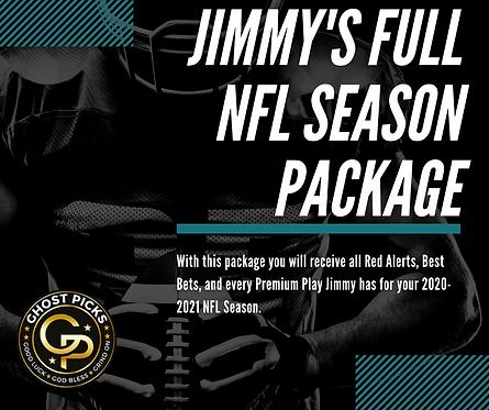 Jimmy's NFL Season