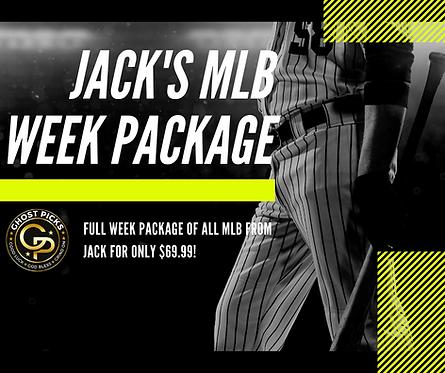 Jack's MLB Week Package