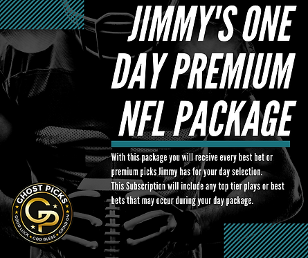 Jimmy's One Day Premium NFL Package