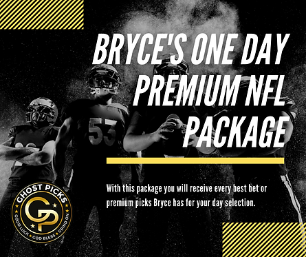 Bryce's One Day Premium NFL Package