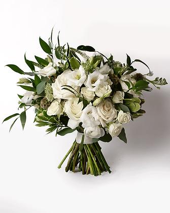 Bridal Triangle Bouquet | Neutral
