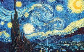 Starry Night by Vincent Van Gogh – 1889