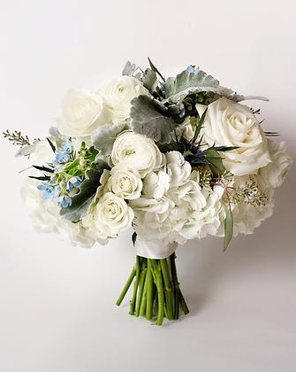 Bridal Round Bouquet | Dainty