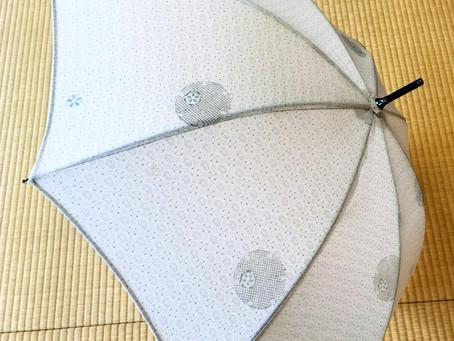 お手持ちの着物を日傘にしてみませんか