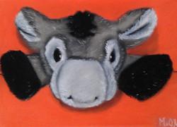 fluffy donkey