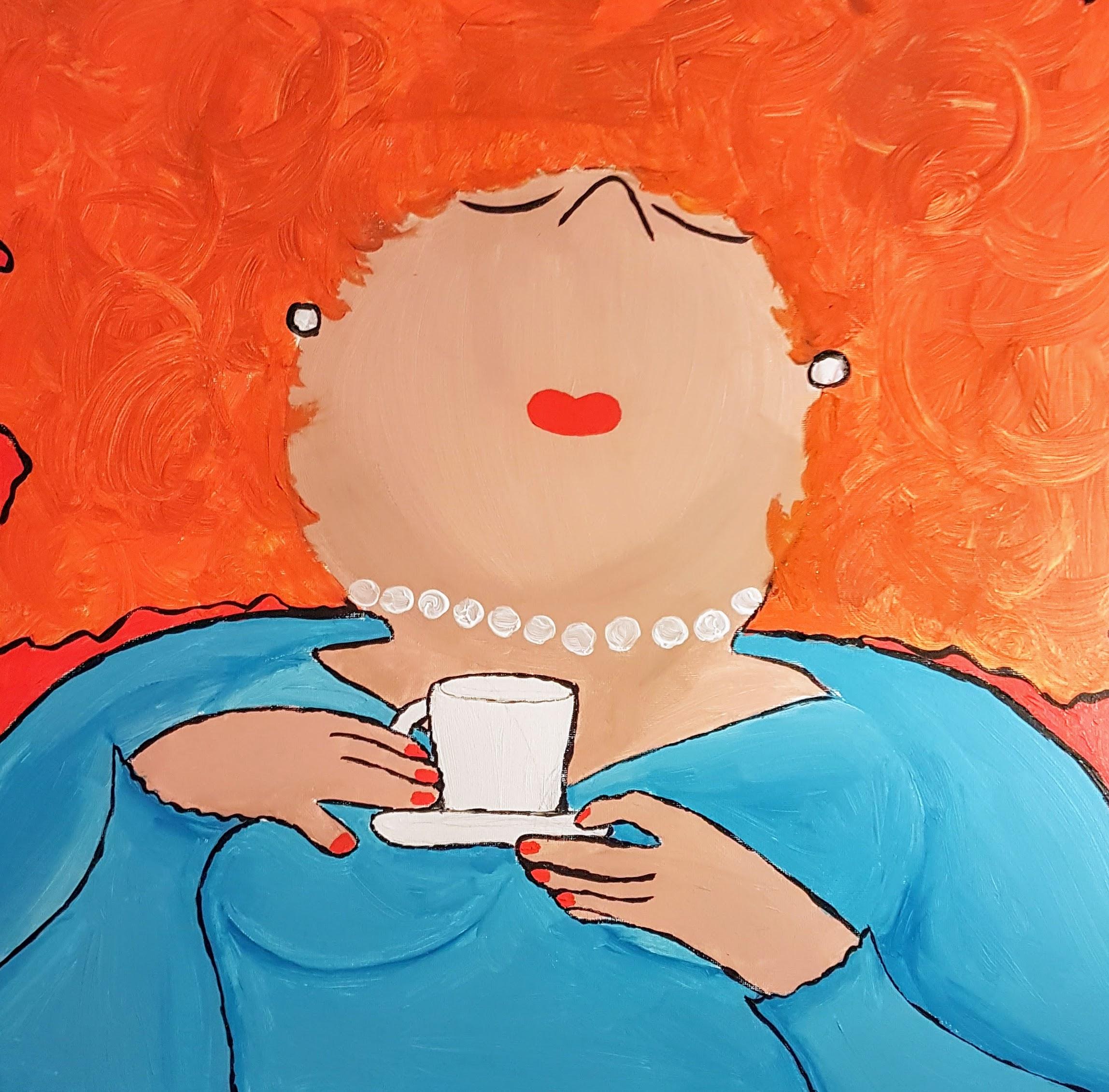 lekker kopje koffie