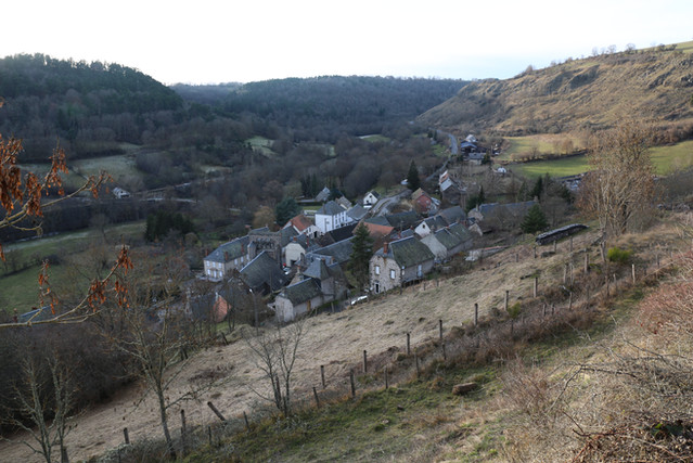 Le bourg - Sainte-Anastasie