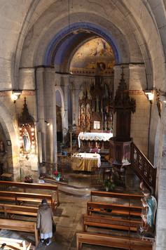 Intérieur - Église Sainte Anastasie