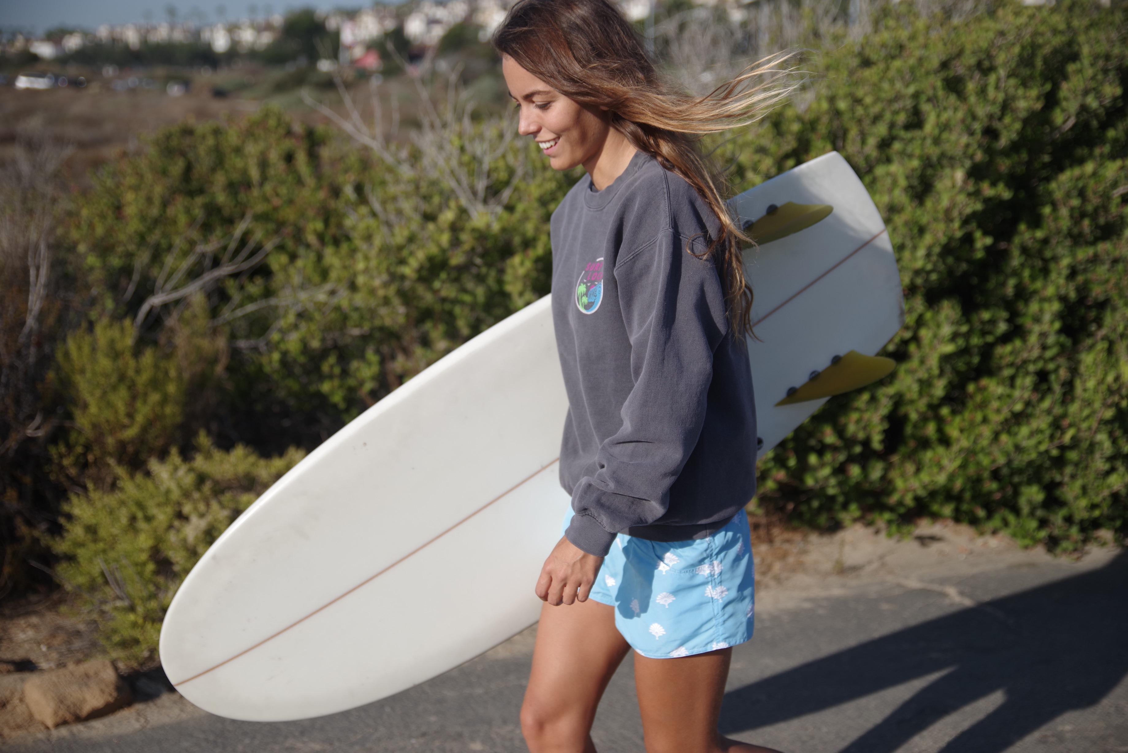 Louise Dwarka Surfboard
