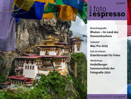 FOTOESPRESSO 1-2020: Interview mit Architekturfotograf Uwe Merkel