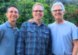 Leslie Chew, Randy Baltzell, John Adorney