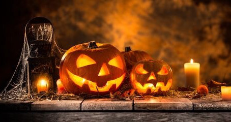 Happy Halloween! Vi önskar er alla en trevlig Allhelgonahelg !