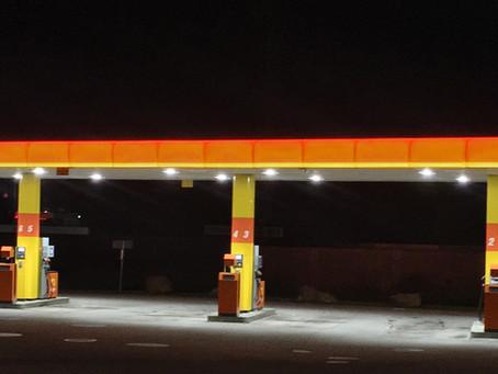 Lägre energiförbrukning och höjd säkerhet på INGO´s obemannade bensinstationer med ny LED belysning!