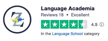 Language Academia Trustpilot