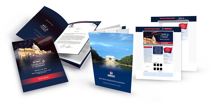 Conference materials - program, website, agend