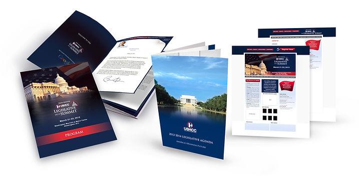 Conference materials - program, website, agend