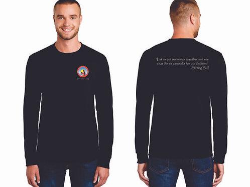 OICWA Black Long Sleeve Tshirt
