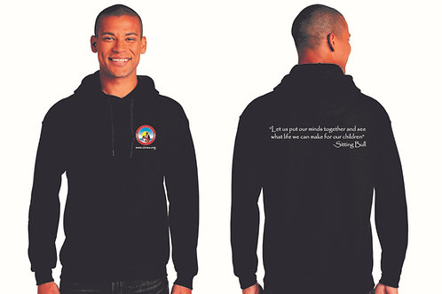 OICWA Black Pullover Hoodie