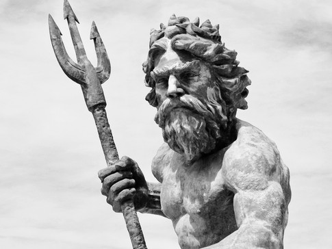 King Neptune - Up Close and Personal