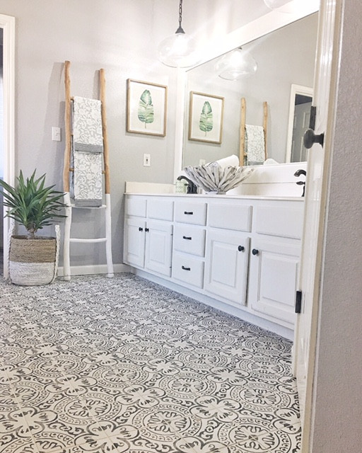 From Blah to Spa, Bathroom Remodel