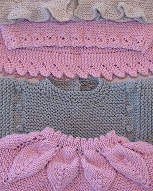 jerseys, vestidos y peleles de bebé