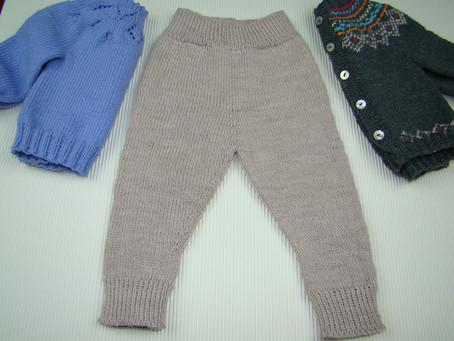 Pantalón largo de bebé