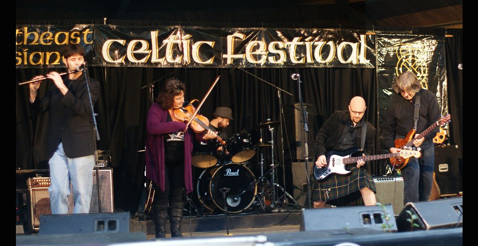 Needfire at NE LA Celtic Fest