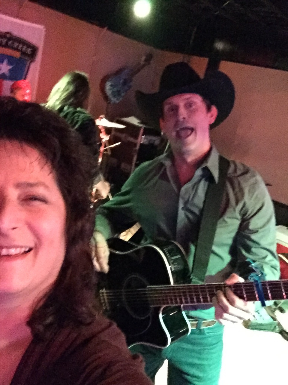 With Dusty from King George, New Year's Eve, Boondocks in Lake Worth, TX
