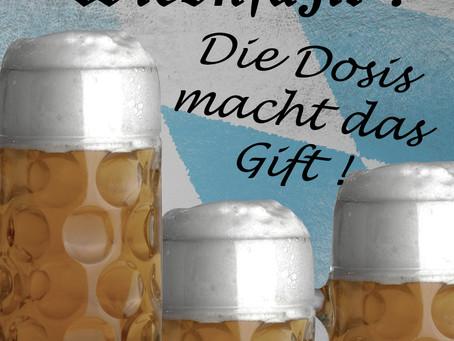 ... aber alkoholfrei schmeckt aa ned! ;)