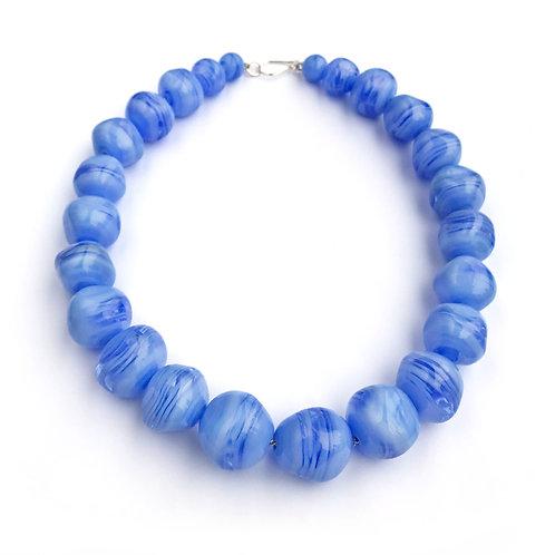 Abstract lánc - kék I.