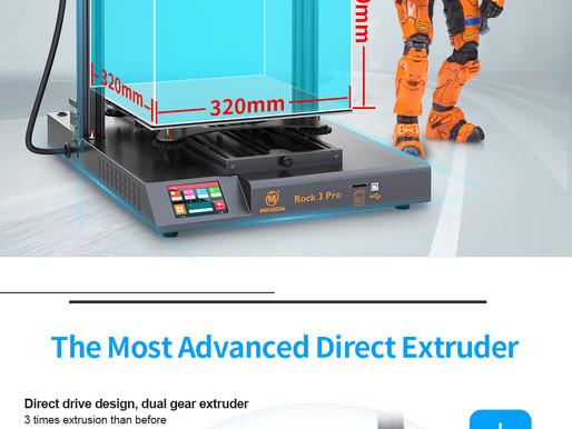 Imprimante 3D Rock 3 pro : LA CONCURENTE !!!
