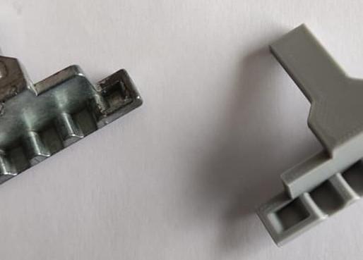 Fabrication d'une pièce sur mesure avec une imprimante 3D