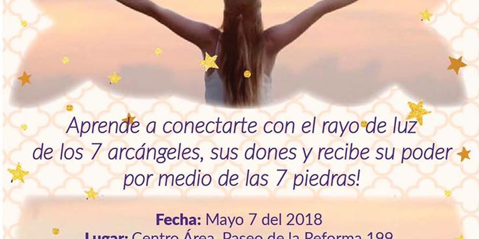 Meditación CDMX: Los 7 Rayos Angelicales