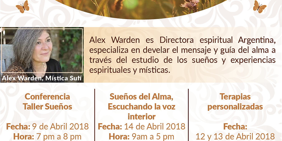 Taller de Sueños: El Lenguaje del Alma Alex Warden