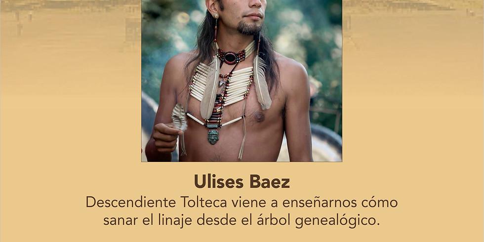 Taller Sanación Ancestral Bogotá con Ulises Báez