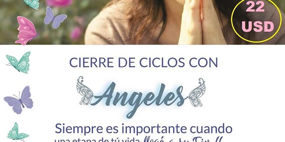 TALLER SOLSTICIO ONLINE CERRANDO CICLOS CON ÁNGELES