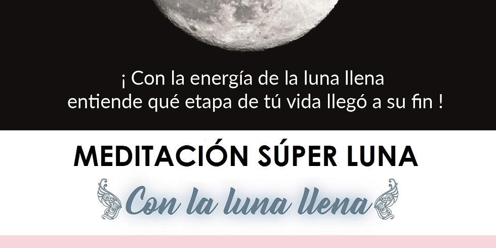 Meditación Bogotá: Cerrando Ciclos con la Súper Luna Llena
