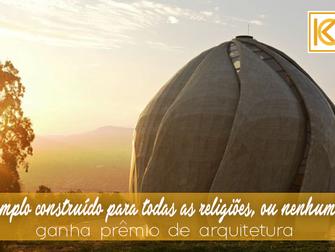 Templo construído para todas as religiões, ou nenhuma, ganha prêmio de arquitetura