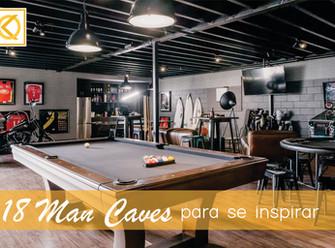 18 'Man Caves' para se inspirar